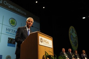 FL Governor Crist Courtesy PGA of America